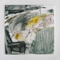Coastal Anxiety #16 - Plate Size: 7 X 7 inches - Monotype